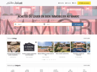 Annonces immobilières à Marrakech