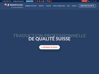 Swisstranslate agence de traduction