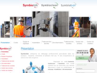 Symbiotek Symbioclean Propreté Symbiobat Rénovation