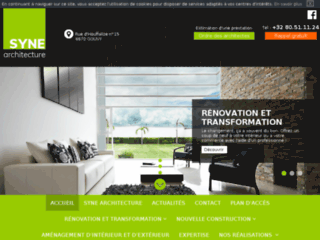 Architecte construction maison Gouvy