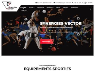Détails : Synergies Vector, votre fournisseur belge de matériel et équipements sportifs