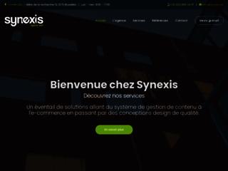 Détails : Agence Web Bruxelles Synexis
