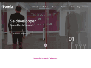 Détails : Synolia, votre prestataire expert en E-commerce et CRM Open Source