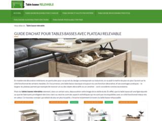 Table basse relevable, un site d'information sur les tables basses relevables