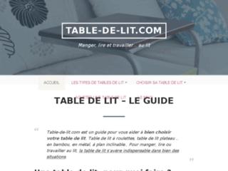 Détails : Un petit meuble de lit très pratique au quotidien
