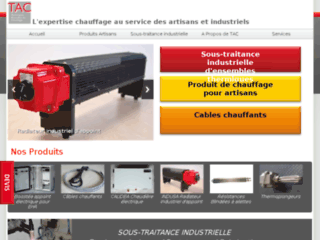 Chauffage Industriel TAC Thermie