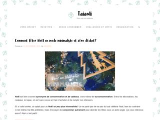 Taiaoli - Pour un mode de consommation plus sain et zéro déchet