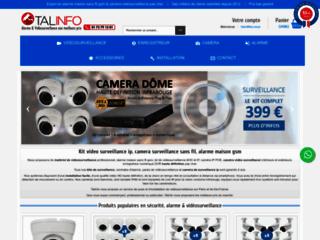 Talinfo, vente en ligne de matériel de sécurité pas cher