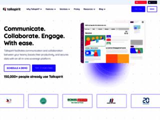 talkSpirit, reseau social d'entreprise et plateforme collaborative