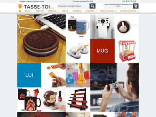 Tasse-Toi, des cadeaux et des gadgets