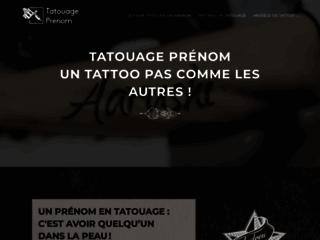 Idée de tatouage pour un prénom