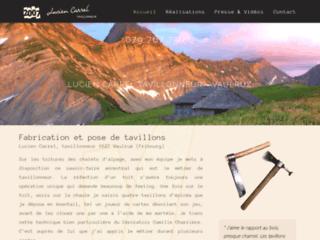 Lucien Carrel, artisan tavillonneur en Suisse