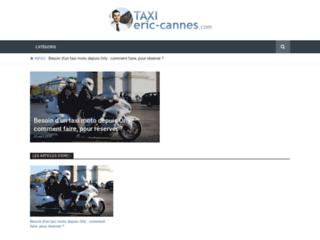 Détails : Taxi Eric Cannes : Taxi Cannes