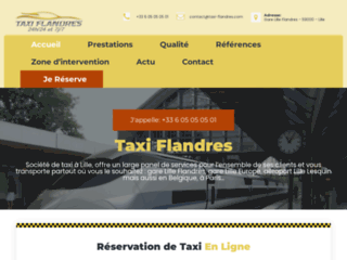 Taxi Lille Flandres
