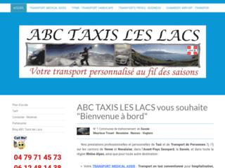 Détails : Taxi les Lacs en Savoie