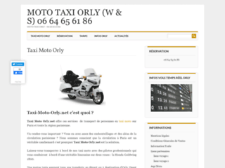 Taxi Moto Orly
