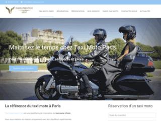 Taxi Moto Paris - Réservation Moto Taxi Paris