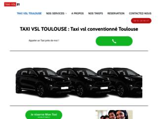 Détails : Taxi vsl conventionné à Toulouse