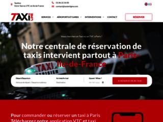 Taxi en ligne|Réserver votre taxi sur internet- Paris, CDG,