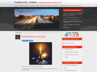 Détails : Réservation taxi moto paris
