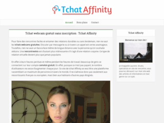 Tchat-Affinity, le visio chat 100% gratuit et sans inscription