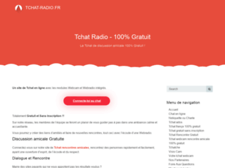 tchat-radio dialogue radio gratuite