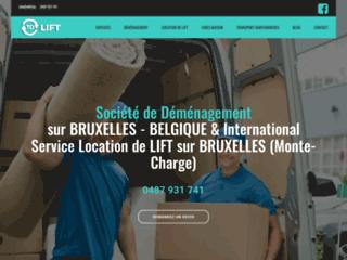 Détails : TD LIFT | Vos spécialistes en déménagement, lift services à Bruxelles