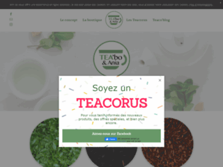 TEA'bo et Ania : Vente de thé naturels