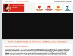Team building Paca, activités séminaires entreprise
