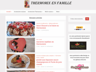 Détails : THERMOMIX EN FAMILLE