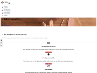 Teko consulting est une agence de création site web et application mobile