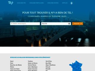 Détails : Tel.fr, l'annuaire gratuit qui s'adapte à vous