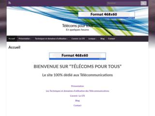 Détails : Telecoms pour tous