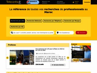 Détails : Les pages jaunes du Maroc