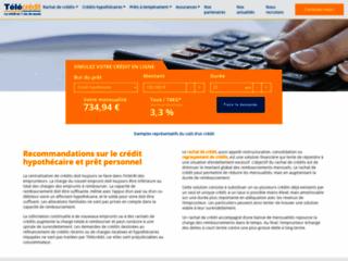 Détails : Télécrédit, regroupement de crédits en Belgique