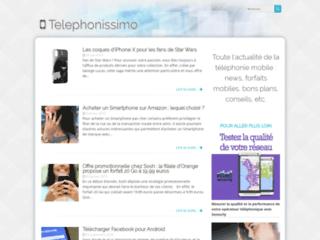 Suivre l'actualité du secteur de la téléphonie