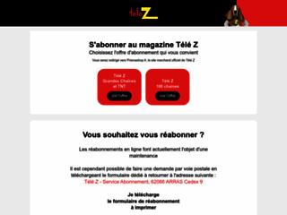 Détails : Télé Z – abonnement magazine TV