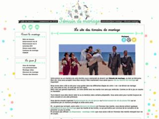 Détails : Témoin de mariage