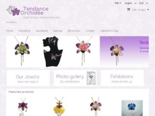 Détails : Tendance orchidée bijoux