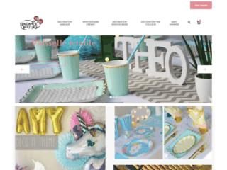 Détails : Boutique en ligne de d'articles de décoration pour mariage et fêtes tendance