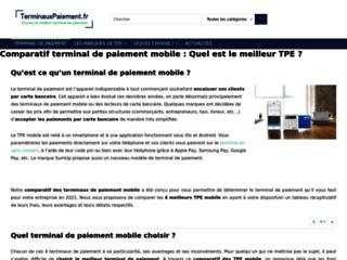 Détails : Terminal de paiement : guide d'achat et comparatif