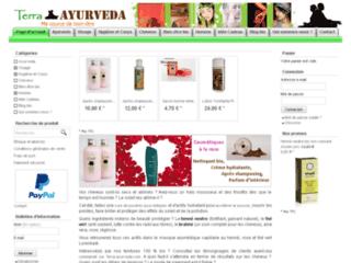 Détails : Produit ayurvédique pour cheveux Khadi