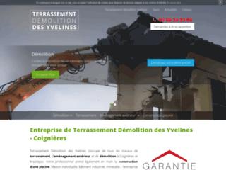 Entreprise de terrassement en Yvelines