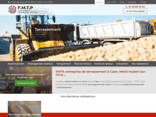 FMTP, entreprise de terrassement à Caen, Ménil-Hubert-sur-Orne ...