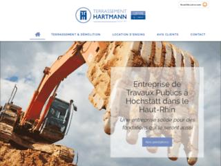 TERRASSEMENT HARTMANN à Hochstatt spécialiste des travaux de gros oeuvre