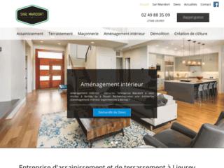 Entreprise d'assainissement et de terrassement à Lieurey,