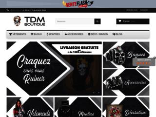 Détails : Découvrez les meilleurs produits tête de mort aux meilleurs prix sur la boutique TDM