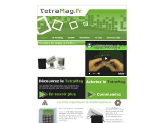 Détails : Tetramag : le néocube aimanté
