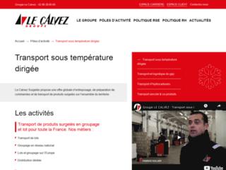 Détails : TGC : transport produits frigorifiques