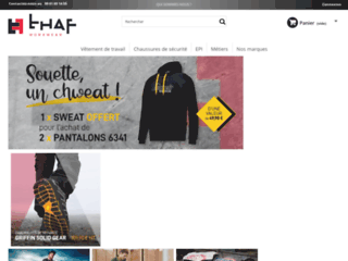 Thaf Workwear : vêtements professionnels de qualité à bon prix